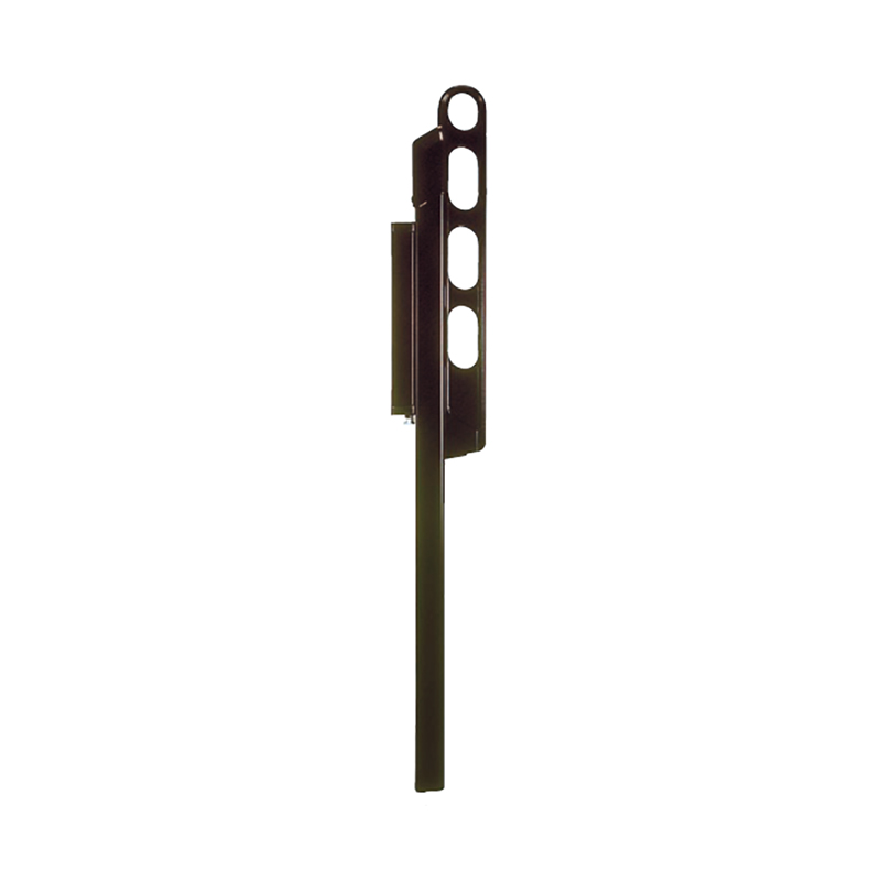 【代引不可】【3セット】ホスクリーン 物干金物 HK型 550mmアーム(収納時) ライトブロンズ LP-55 [ベランダに取付ける物干金物] 760310 カネシン アミ