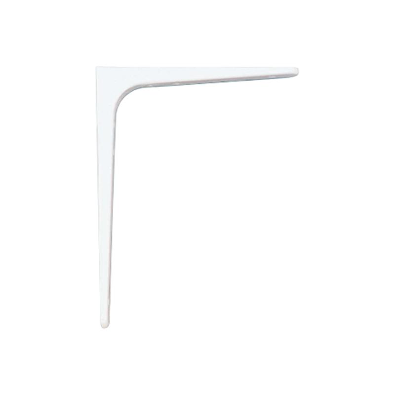 【代引不可】【10個】 カネシン 棚受金物 スチール (ホワイト) BTK-300W [棚板の受け金具として使用] アミ