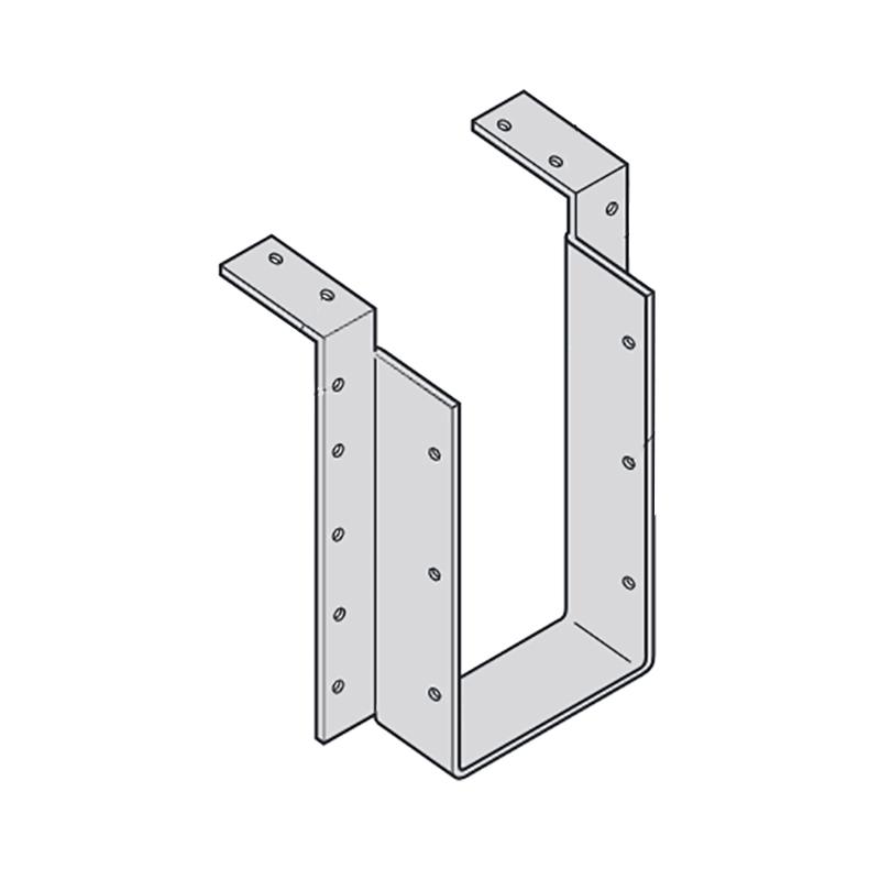 【代引不可】【10個】 カネシン 梁受け金物(ヘビータイプ) BHH3-210 Cマーク 枠組壁工法用 [梁の接合部に支持点がない時の梁の緊結] アミ