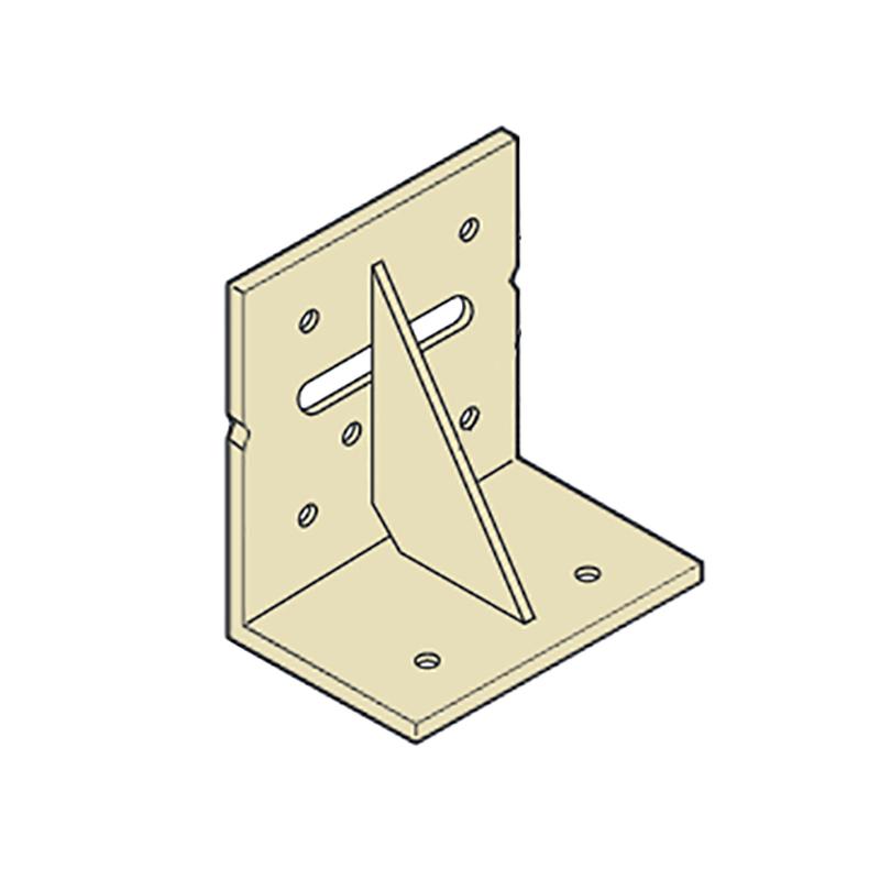 【代引不可】【50個】 カネシン まぐさ受け金物 LH-204 Cマーク 枠組壁工法用 [開口部の幅が1m以下の場合のたて材とまぐさの緊結] アミ