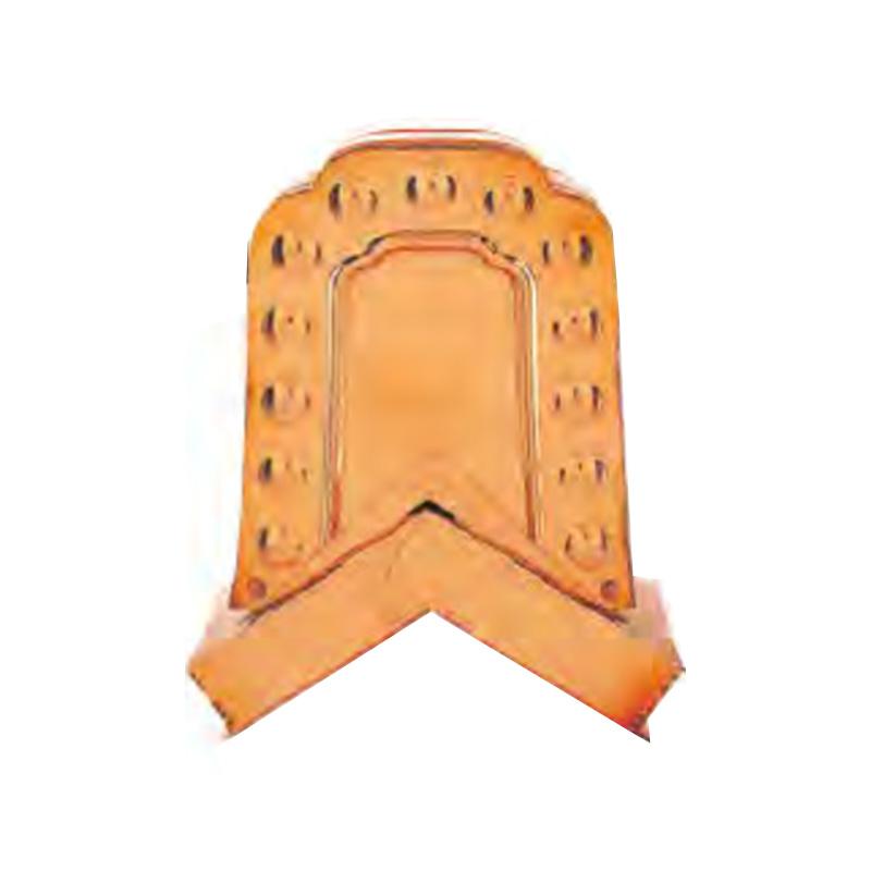 屋根装飾 鬼飾り 海津型守護鬼 AE-8 数珠掛型 (ステンレス) 2個入 勾配自在型 推奨箱棟 W-55型 和風 護国 アミ 代引不可
