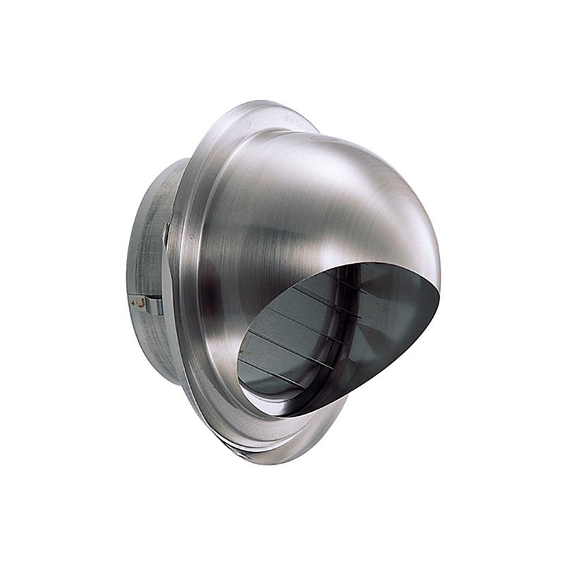 【12個】 換気口 強制給排気口部品 外壁換気口 ステンレス製 丸型フード水切付ガラリ 溶接組立式 UK-GZEV150S-MG メタリックグレー 宇佐美工業 アミD