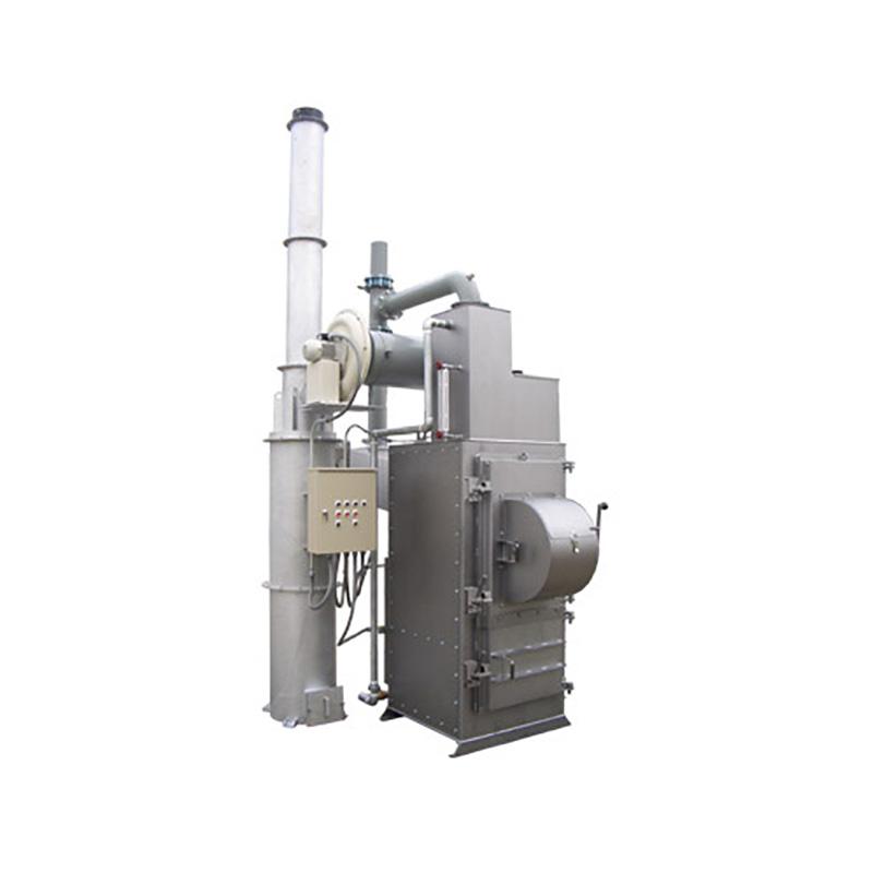 焼却炉の構造に関するすべての法規制に適合 【代引不可】【個人宅配送不可】【関東・東関東・信越・中部・関西】 焼却炉 万能用 大型ゴミ・水冷式 IHJII-600N 排ガス浄化システム搭載 DAITO 金T