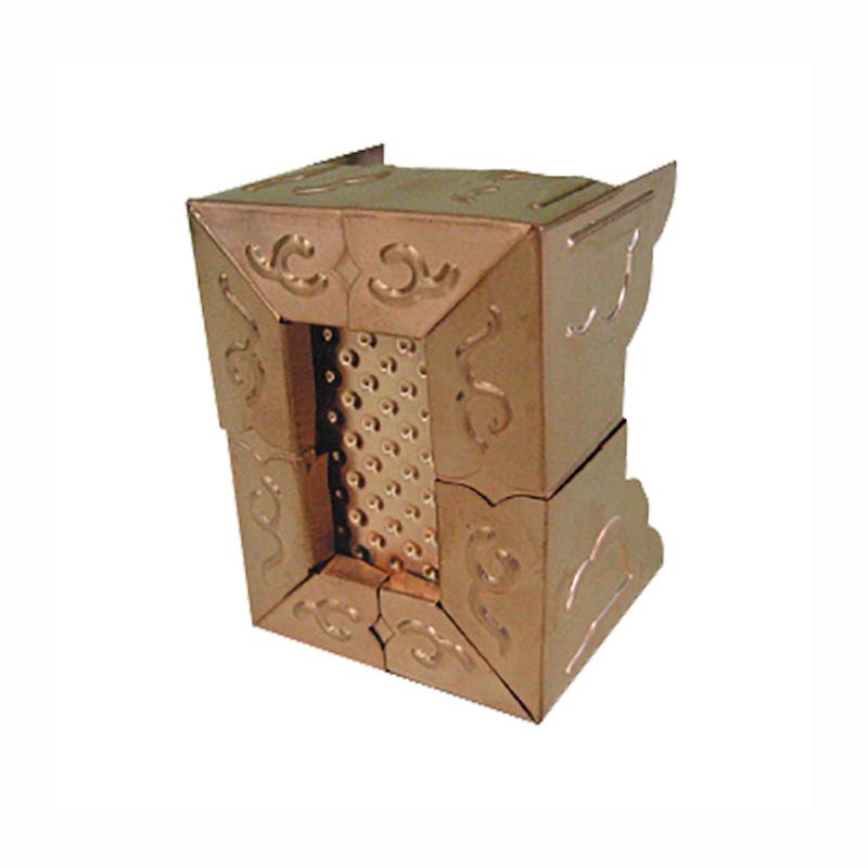 梁化粧材 純銅製型ノビール 日創 万能金具 タルキ化粧用 2L型 TK-07 簡単取付 100個入 TK-07 伝統的な日本建築に最適 伸縮自在 簡単取付 豪華 日創 アミD, 三芳村:35fbf651 --- sunward.msk.ru