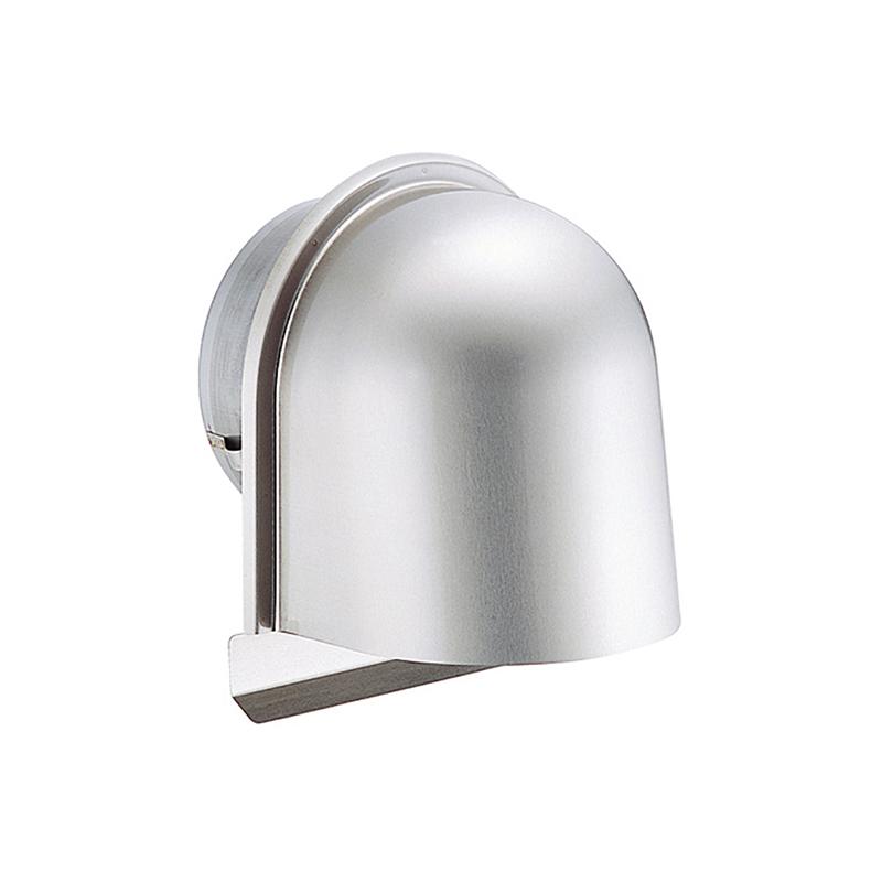 【36個】 換気口 自然給排気口部品 外壁換気口 ステンレス製 U型フード付ガラリ 溶接組立式 UK-UGEN75S-HL ヘアライン 宇佐美工業 アミD