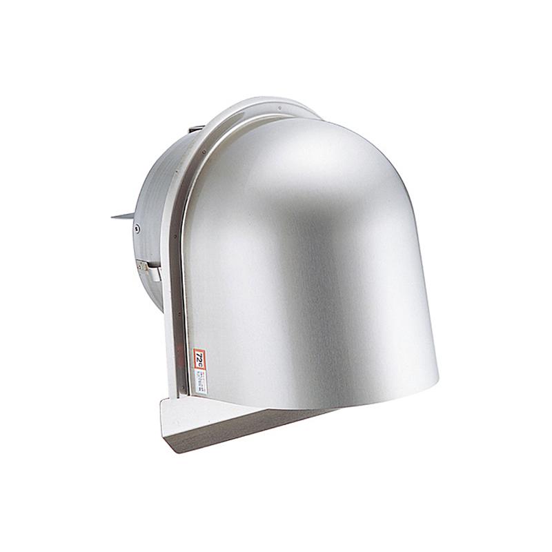 【36個】 換気口 自然給排気口部品 外壁換気口 防火ダンパー付 U型フード付ガラリ 溶接組立式 UK-UGEN75SHD-MG メタリックグレー 宇佐美工業 アミD