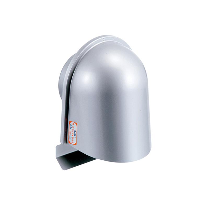 【12個】 換気口 自然給排気口部品 外壁換気口 防火ダンパー付 UL型フード付ガラリ 溶接組立式 UK-ULZEN100SFD-MG メタリックグレー 宇佐美工業 アミD