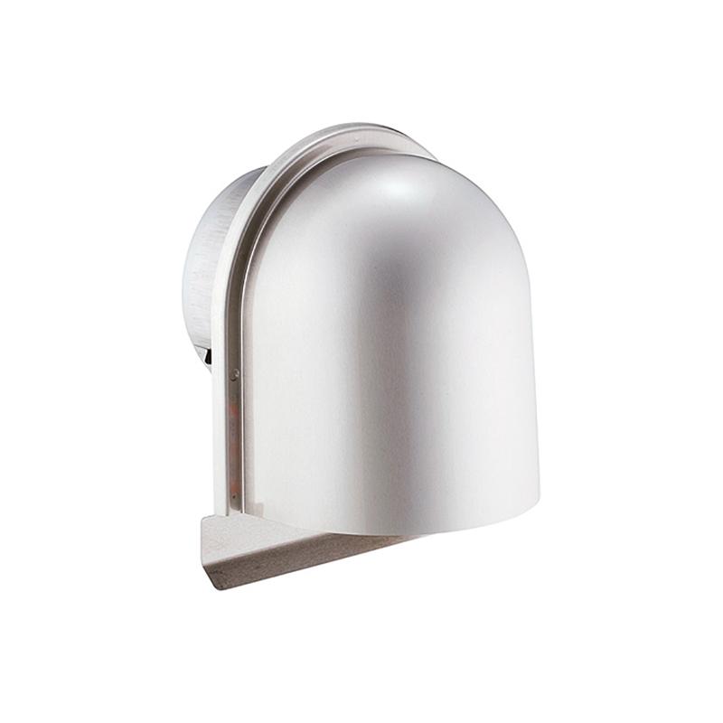 【12個】 換気口 自然給排気口部品 外壁換気口 ステンレス製 U型フード付ガラリ 溶接組立式 UK-UZEN150S-HL ヘアライン 宇佐美工業 アミD