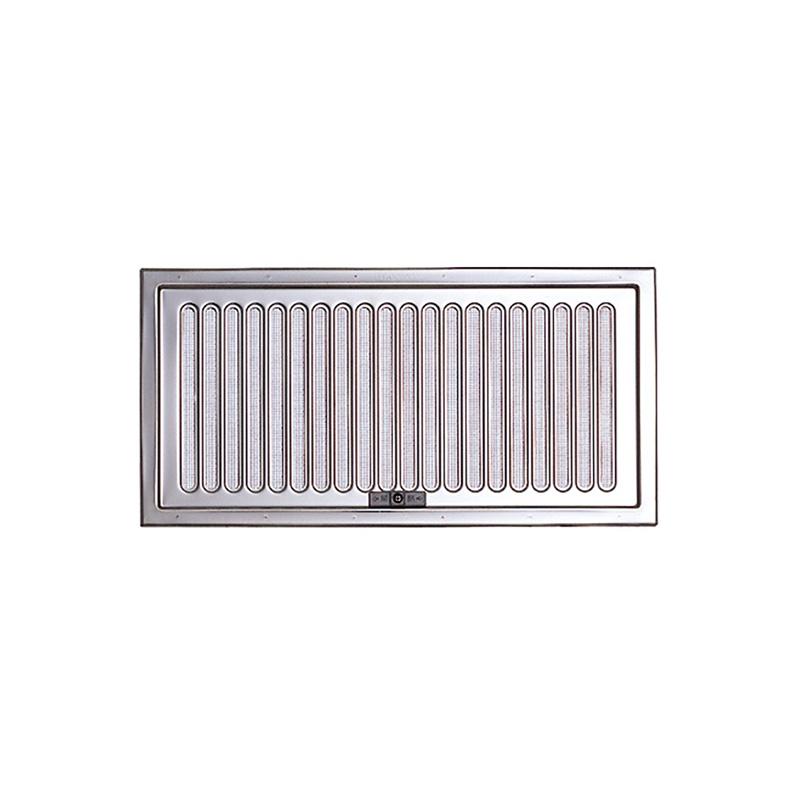【20枚】 換気口 自然給排気口部品 床下換気口 ステンレス製 スライド式 UK-YSD2040-SM シルバー 宇佐美工業 アミD