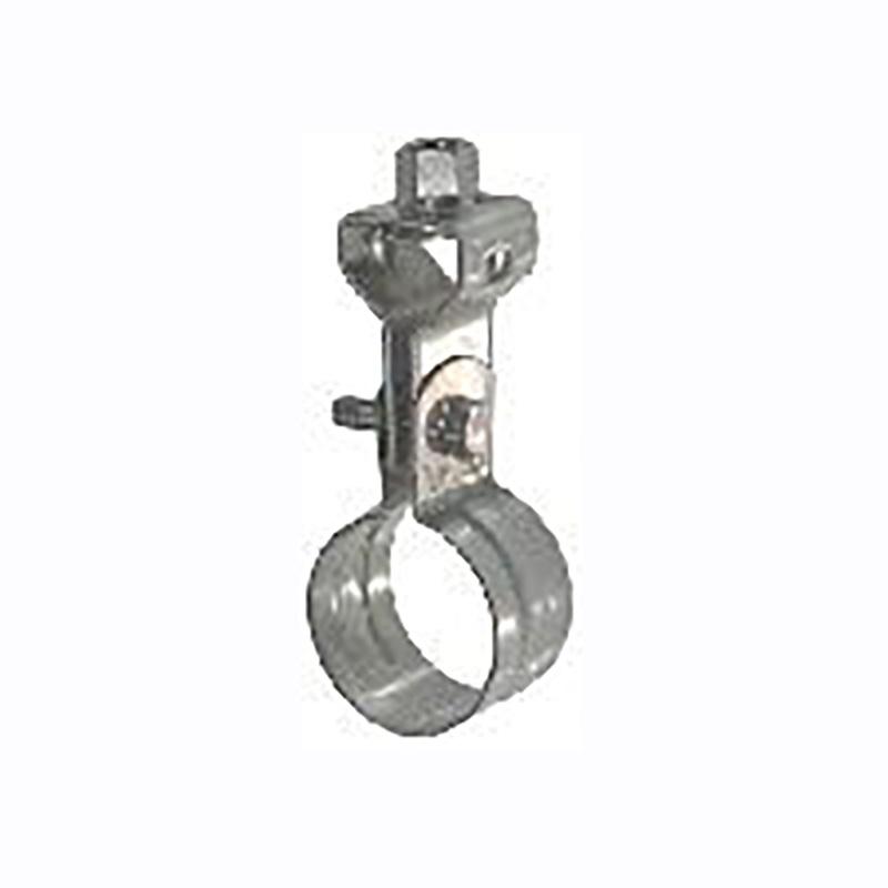 配管支持金物 VP管用 吊バンド タンバックル付 50A ユニクロ-ムメッキ 140 (20×7)個入 20580791 野島角清 アミD
