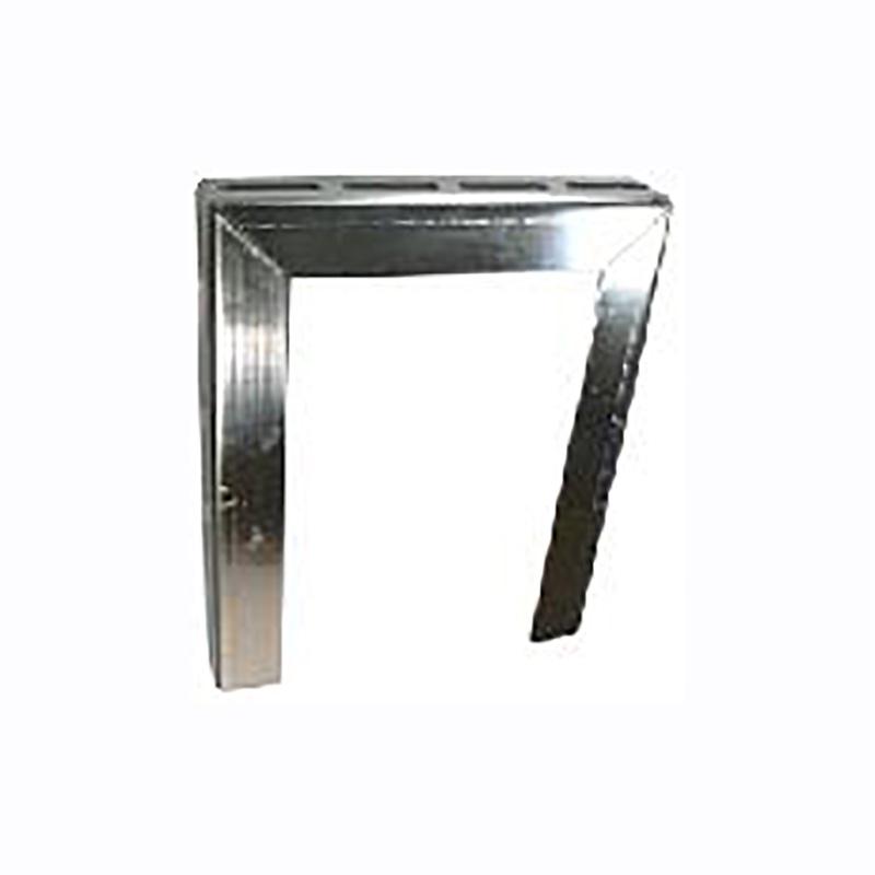 補強金物 アングルブラケット M型 M-300-S 300×360 ドブメッキ 10個入 21383390 野島角清 アミD