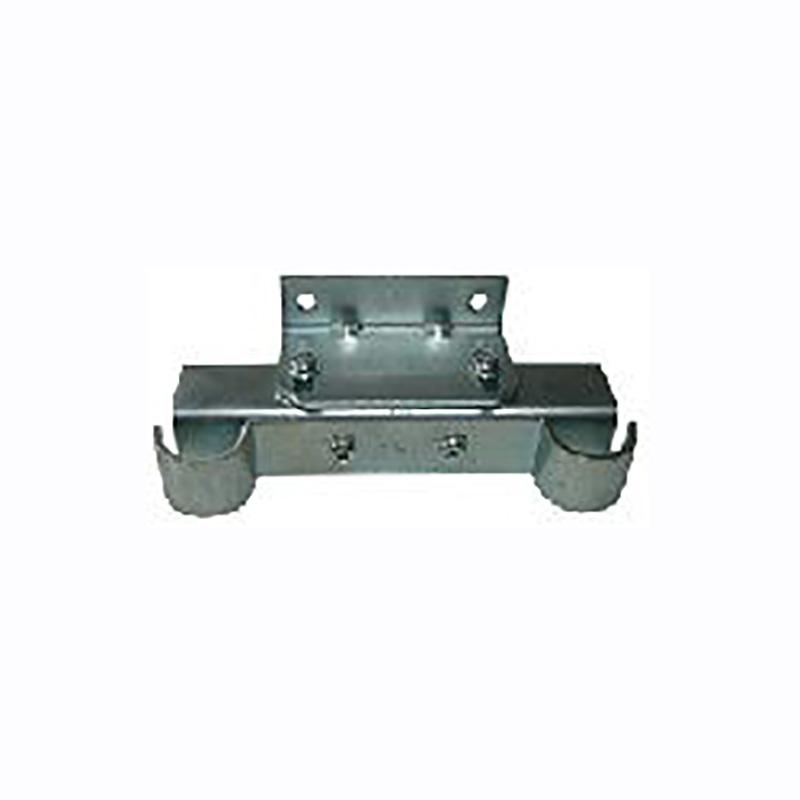 配管支持金物 ガスメーター支持金具 15A-P130 ユニクロ-ムメッキ 50個入 21590291 野島角清 アミD