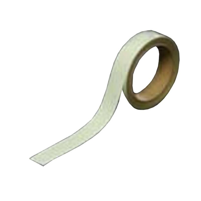 保護フィルム ビバ蓄光テープ 黄緑 グロス 暗闇下では青 12巻/1ケース BT251 25mm×1m 総厚460+-5 床面 家具 建材 夜間 停電 非常時 案内標示 T原 代引不可