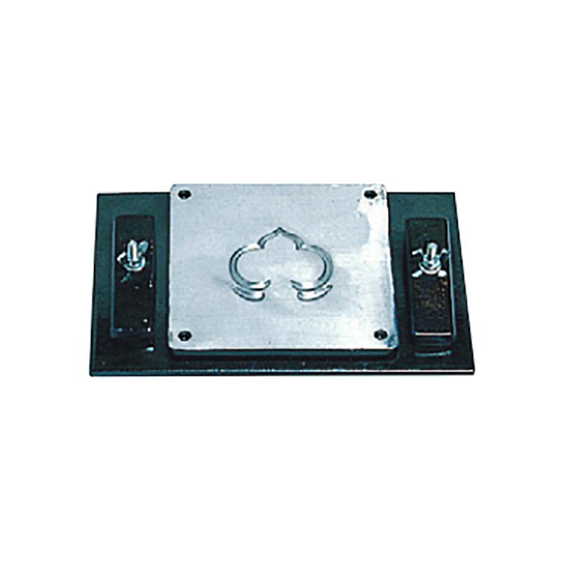 鉄板用工具 アルミ型板 アルミ打ち出し型 はっそう C DUAK-0022 盛光 アミ 代引不可