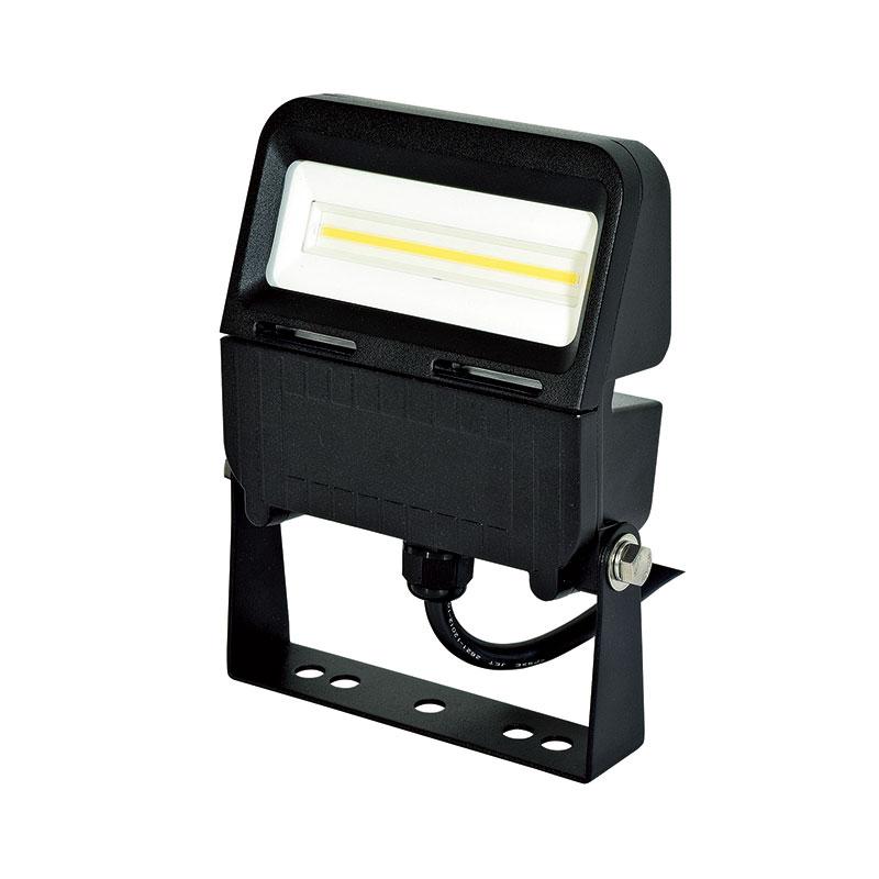常設用 LED投光器 フラットライト20W 黒 ワイド 昼白色 LJS-F20D-BK-50K 日動工業 代引不可