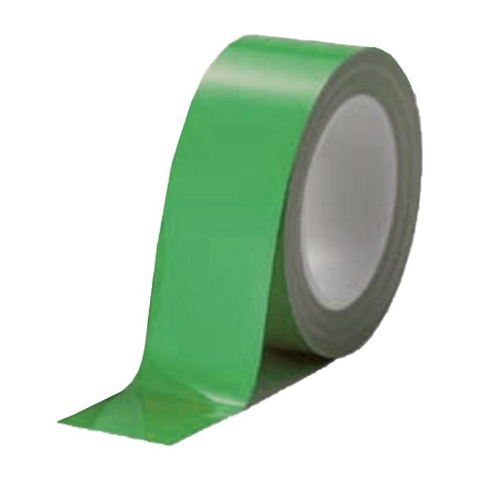 案内ライン ビバスーパーラインテープ 緑 12巻/1ケース LTS50 50mm×20m 総厚306±5 床面 家具 建材 保護 美観維持 ラミネート T原 代引不可