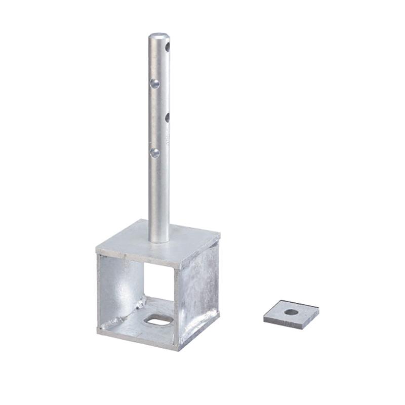 【代引不可】【3個】 SSLOCK柱脚金物 CK-105 330020 基礎と柱の緊結に使用する柱脚金物 カネシン アミ