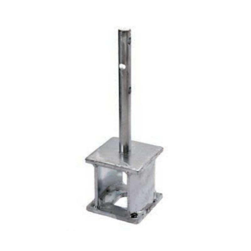 【代引不可】 【4セット入】 柱脚金物CKB CKB-105 105×105×355 基礎と柱脚の接合に使用 AA5CK100 TANAKA タナカ アミ