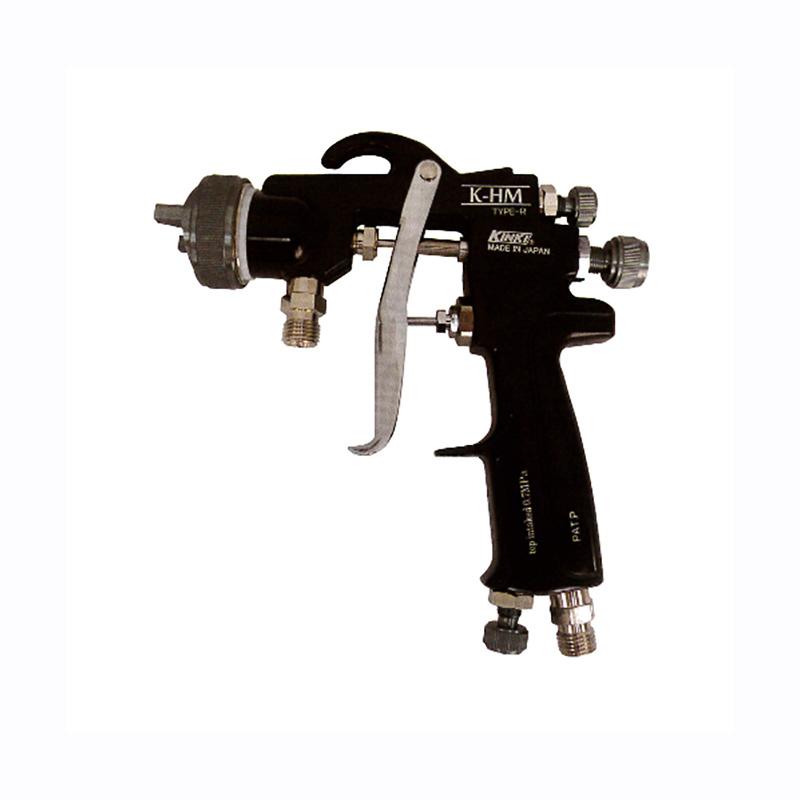 スプレーガン 重力式 K-HM-R15G ノズル口径 1.5mm 取付ネジ G1/4 近畿製作所 カSD