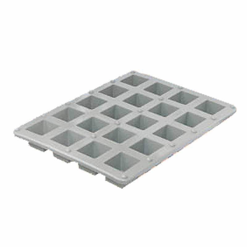 樹脂サイコロ枠 20個取 5枚入 余った生コンで5・6・7・8のサイコロ 作業楽々 NSP 代引不可 個人宅配送不可