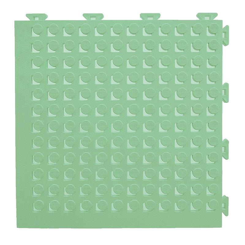 チェッカー フィットチェッカー パールグリーン 30枚入 13x300x300 水はけが良く風通しも良し プールサイド 渡り廊下などのマットに みずわ Lク 代引不可
