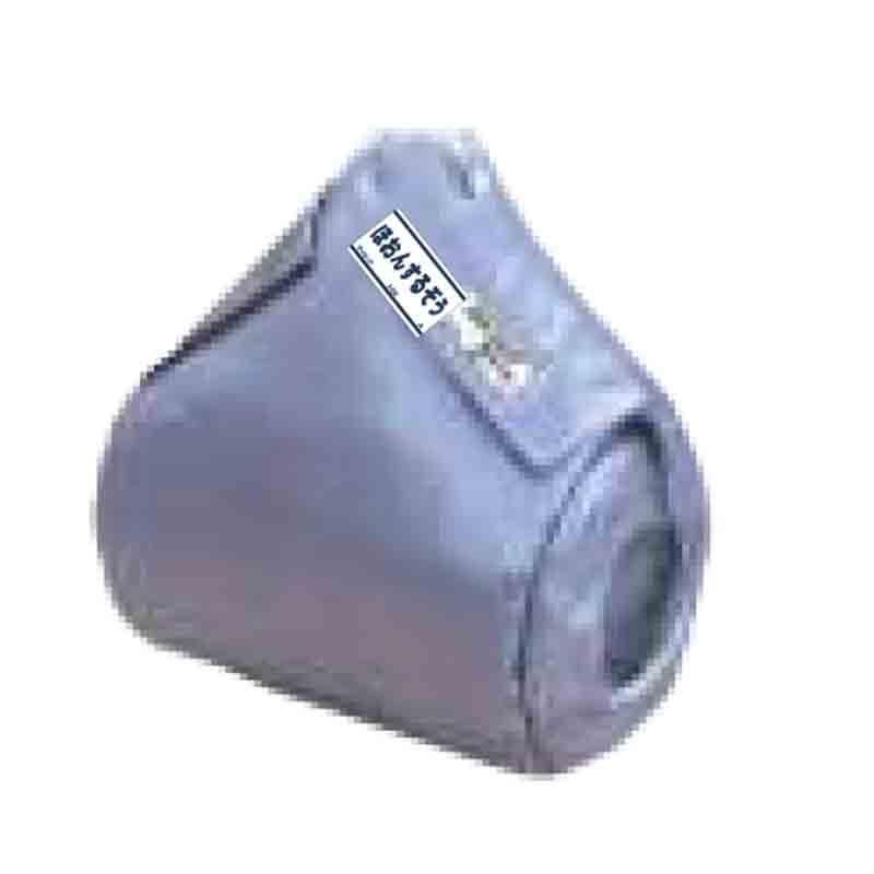 断熱カバー ほおんするぞう フランジ口径25A用カバー 工場内汎用品放熱を最小限に抑える マジックテープで脱着簡単 マイセック 個人宅配送不可 代引不可