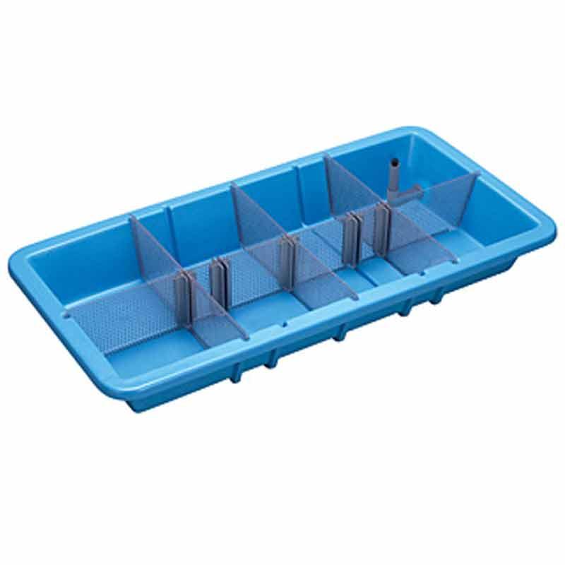 低構造の水槽 分割 自在 水槽 KBS190 本体のみ 1600x800x215 オーバーフロー排水 魚市場 カイスイマレン コT 個人宅配送不可 代引不可