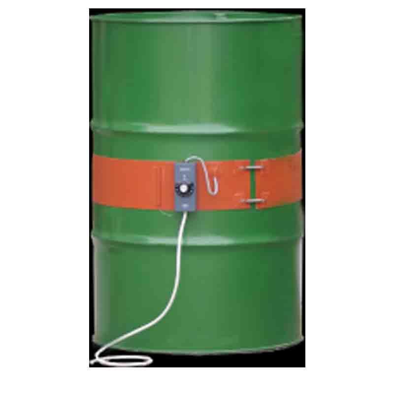 ドラム缶用シリコンラバーヒーター 温度ヒューズ アース付 MBHJ-200-1HT 100V 工場用 PSEマークなし 屋内非危険場所仕様 マイセック 個人宅配送不可 代引不可