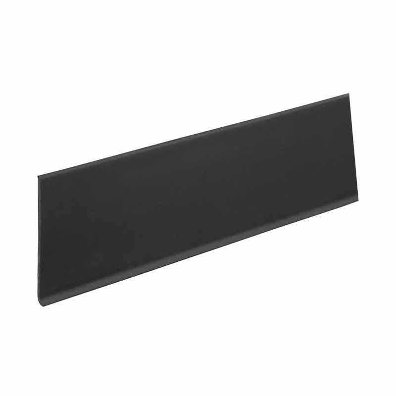 粘着 巾木 らくぴた 黒 RTH602 50本入 60x909mm 接着剤不要 の 粘着テープ で 貼り付け 壁紙 Lク 代引不可