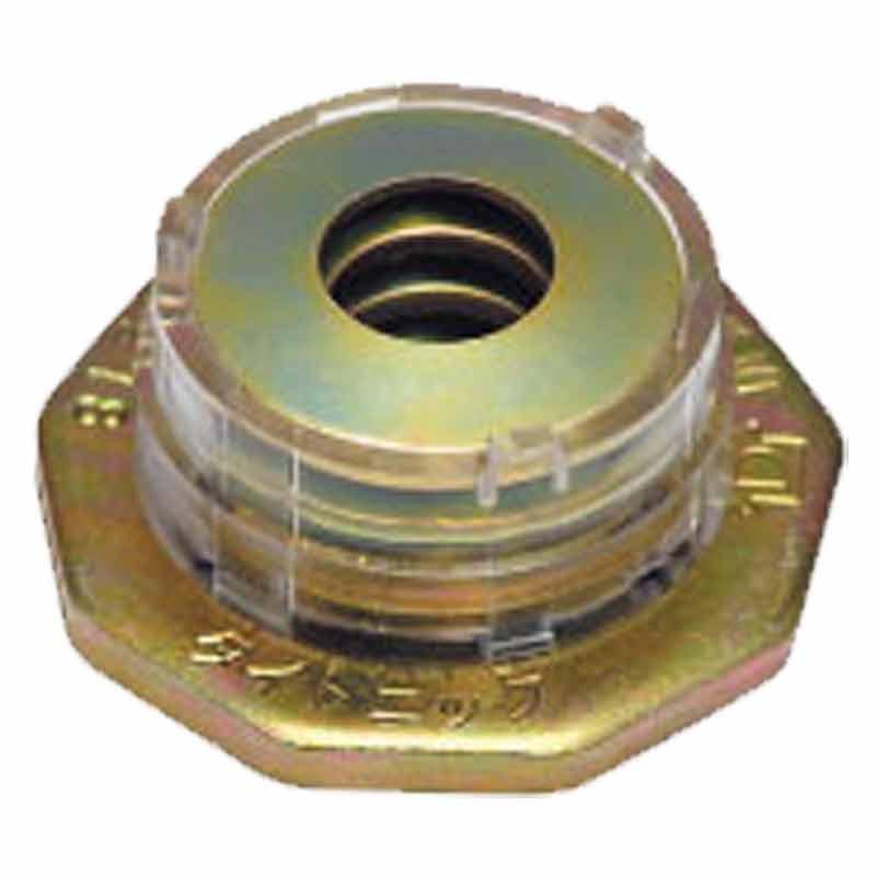 耐震 座金 タイトニック TZ12ME-I 300個入 Zボルト 12mm 対応 木痩せに 追従して 締め付ける 簡単取付 ティカトウ T販 代引不可