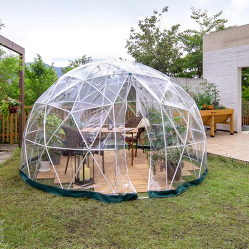 ガーデンドーム GRH-18 直径360xH220 お客様組立品 エクステリア ガーデン ファニチャー 離れ 空間 ビニール ハウス タカショー タ種 代引不可