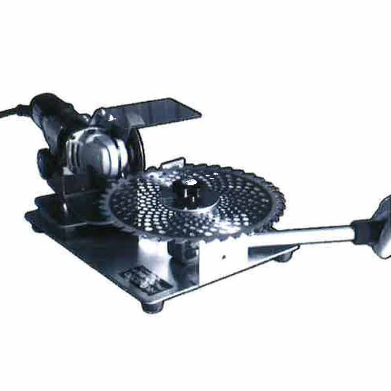 草刈り チップソー専用 研磨機 HKG-3000 研磨角度調節機能 変速グラインダー付き 研ぐ 刃 簡単 入門機種 Hジ 代引不可