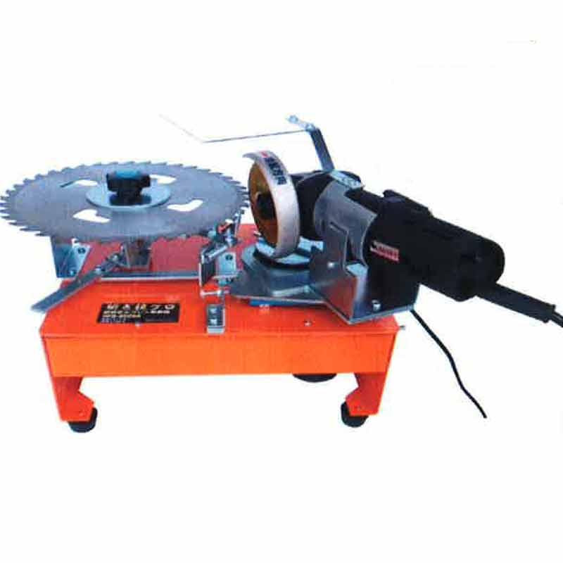 チップソー 自動 研磨機 HKG-6000A 変速タイプグラインダー付き 自動送り研磨 Hジ 代引不可