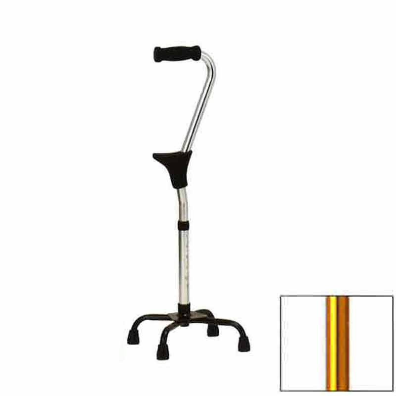 サポート 杖 スタンダップサポートクウォードケイン SU-501UL ゴールド ラージベース 立ち 座り をサポート 高齢者 歩行補助 リハビリ クリスタル産業 代引不可
