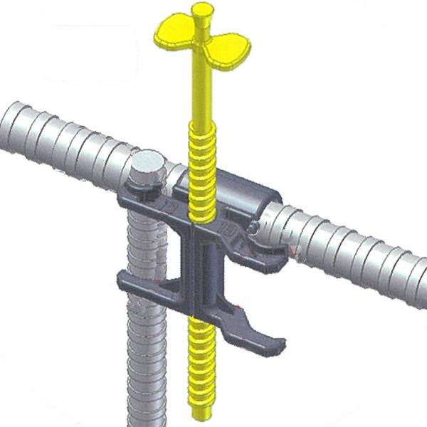 【代引不可】【1000本】レベルポインター D1013 LP-1013 D10 D13 兼用 コンクリート 打設 天端 BL レベル出し 計測 器具 基礎 建設 カネミツ