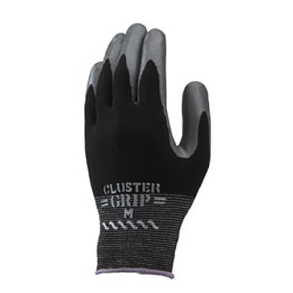 作業用 手袋 組立グリップクラスター タグ付  柔軟性 指先フィット感 10双入  Lサイズ No.371 ショーワグローブ 三カD