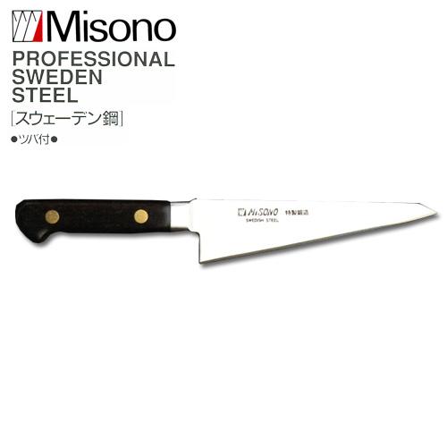 ミソノ EU・スウェーデン鋼 No.145 骨スキ角大 (鳥魚庖丁) 165mm 【Misono】 中金H