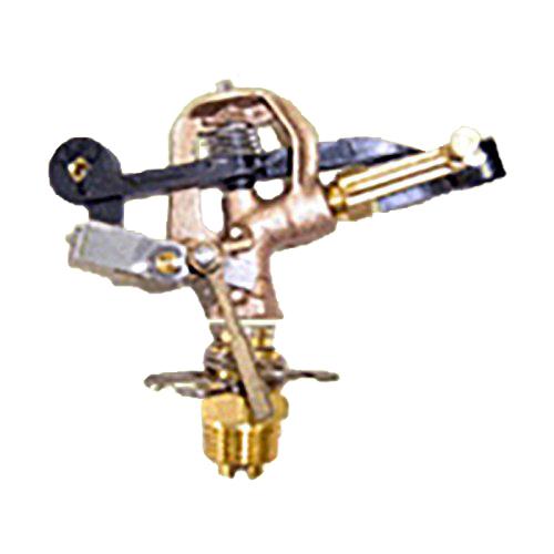 [個人宅不可] 高耐久 金属 (農業用 緑化用) スプリンクラー 小型(S) 15-PJK3-2 口径 2.4 mm 1/2PT 20度 共立イリゲート 防J[代引不可]
