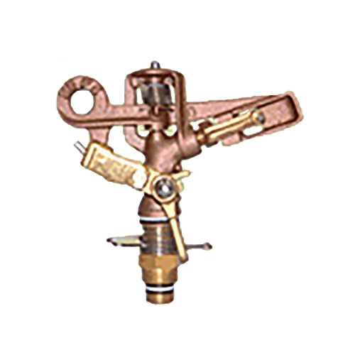[個人宅不可] 高耐久 金属 (農業用 緑化用) スプリンクラー 小型(S) 25-PK3 口径 4 mm 1/2PT 25度 共立イリゲート 防J[代引不可]