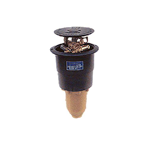 [個人宅不可] 高耐久 (緑化用 ゴルフ場等) ポップアップスプリンクラー PUP-121G 口径 11.1×4.4×2.8×2.8 mm 1-1/2PT 27度 共立イリゲート 防J[代引不可]