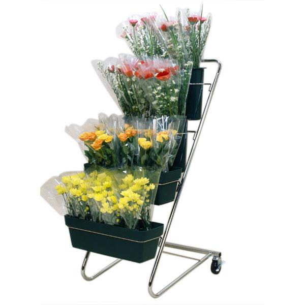 切り花 店舗什器 CFスタンドJタイプ F2236 553×750×1130mm SELON 花屋 フラワーショップ 花卉 花器 セLはが【代引不可】