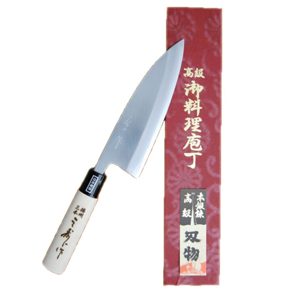 三寿ゞ刃物製作所 出刃 包丁 No.TP022 210mmカSD