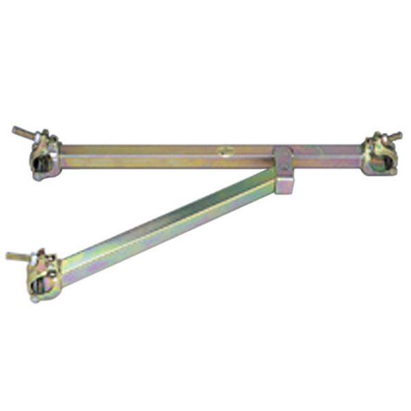 【5本】 マルサ 兼用 ブラケット 42.7 と 48.6 兼用折畳式 L-540 BZ-500S アMD