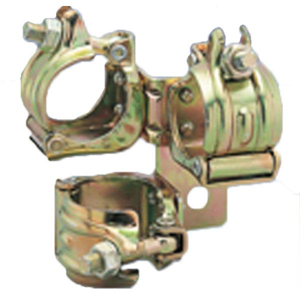 【10個】 マルサ ジョイント クランプ 3型 48.6 単管で手軽に倉庫が組み立てられます。アMD