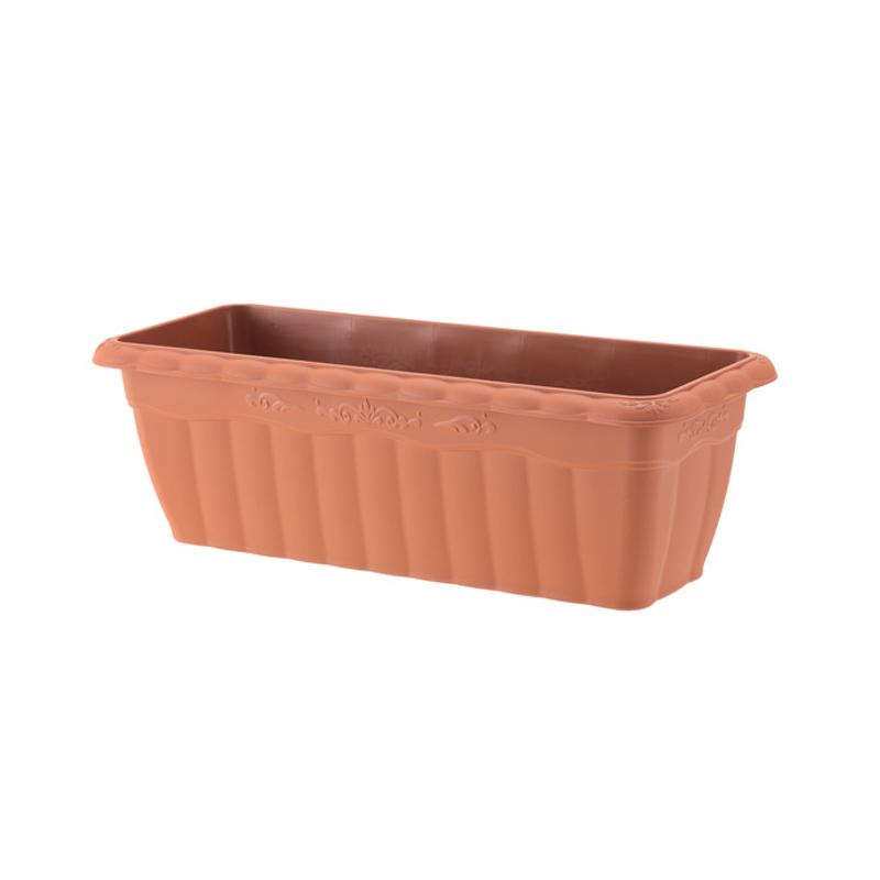 【個人宅配送不可】【北海道配送不可】【48個】 450型 ブラウン クイーンプランター プランター おしゃれ アップルウェアー タ種 【代引不可】