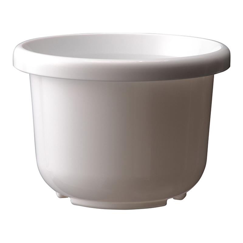 【個人宅配送不可】【北海道配送不可】【40個】 9号 ホワイト 輪鉢 F型 ポット 鉢 おしゃれ アップルウェアー タ種 【代引不可】