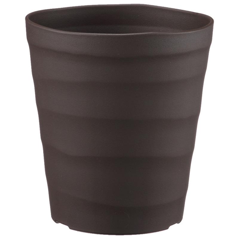 【60個】 18型 ダークブラウン クラフトポット ポット 鉢 おしゃれ アップルウェアー タ種D