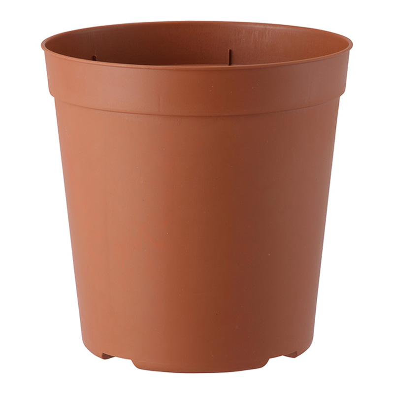 【個人宅配送不可】【北海道配送不可】【80個】 A-230型 ブラウン ナーセリーポット ポット 鉢 おしゃれ アップルウェアー タ種 【代引不可】