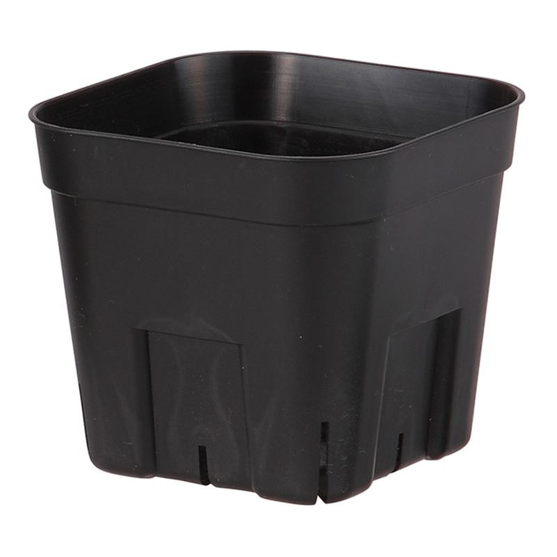 【北海道配送不可】【800個】 105型 ブラック プレステラ ポット 鉢 おしゃれ 日本ポリ鉢販売 タ種 【代引不可】