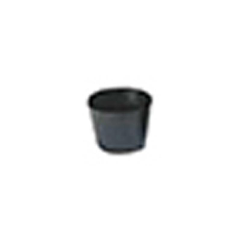 【30000個】 7.5cm 黒 TO 浅鉢安定型ポット ( UAタイプ ) ポリポット 東海化成 タ種 【代引不可】